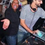 Kat und DJ Ricardo Villalobos SMS