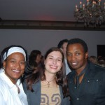 Kat and Sandra with Haddaway