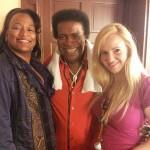 Roberto Blanco mit Ehefrau und Kat Moore